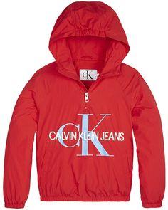#Calvin #Klein #Red #Anorak #Jacket #Kids #Girls #Fashion #Summer #2019 #Meisjes #Kleding #Rood #Zomer #Jas Anorak Jacket, Kids Girls, Calvin Klein, Hoodies, Jeans, Summer, Sweaters, Jackets, Fashion
