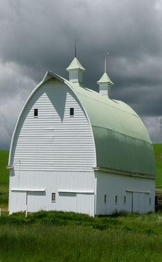 Stately barn