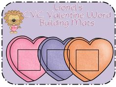 Help your students practice CVC words by playing with Lionel's CVC Word building mats.  These mats are great to add to your literacy center as a Va...