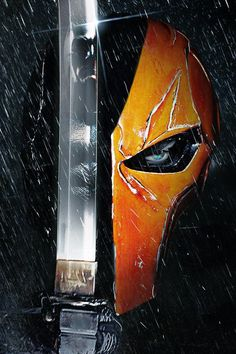 Deathstroke/Batman Poster by MessyPandas on DeviantArt Batman Poster, Batman Vs, Batman Ninja, Arte Dc Comics, Dc Comics Art, Deathstroke Batman, Deathstroke The Terminator, Punisher, Deathstroke Costume
