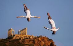 Red Bull Cliff Diving World Series in Cape Sounion