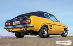A Perana V8 Ford Capri that's a long way from home — The Motorhood
