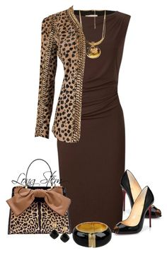 """""""8/25/14"""" by longstem ❤ liked on Polyvore featuring Planet, Christian Louboutin, Moschino, Forever 21 and Balmain"""