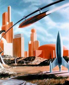Futuristic vista