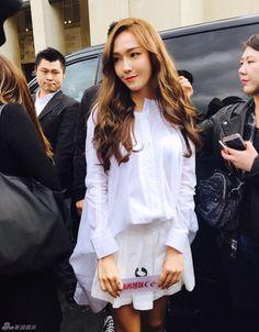 160303 Jessica PFW2016 cr 新浪韩娱 1
