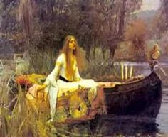 John William Waterhouse The Lady of Shalott painting is shipped worldwide,including stretched canvas and framed art.This John William Waterhouse The Lady of Shalott painting is available at custom size. John William Waterhouse, Art Amour, Pre Raphaelite Paintings, The Lady Of Shalott, John Everett Millais, Illustration Art, Illustrations, Ouvrages D'art, Renoir