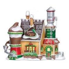 Dept. 56 North Pole Cocoa factory