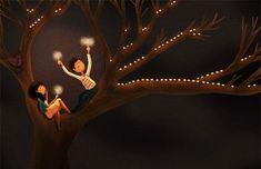 La Bellas Ilustraciones de Nidhi Chanani, Muestran que el Amor Está en las Pequeñas Cosas del Día a Día | FuriaMag | Arts Magazine