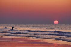 Fishing at Sunrise - Myrtle Beach  by John  Piercy, via 500px
