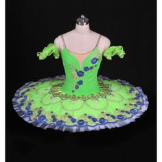 "This professional tutu is created for the role of the Spring Fairy in ""Cinderella"", but can also be used for ""The Four Seasons"", Sleeping Beauty Fairies, Esmeralda, or for any other classical variatio"