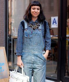 Street Style: A Daring (But Understated!) Look That Nails It, Overall  #refinery29