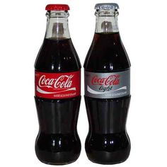 This pair of Classic/Diet Coke glass bottles comes from Coca-Cola Beverages Ukraine - an unusual add to any bottle collection!