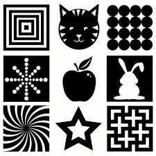 5 pages of black & white vision development images for your infant! PLUS 15 other DIY Infant Activities… FREEBIE! 5 pages of black & white vision development images for your infant! PLUS 15 other DIY Infant Activities… Montessori Baby, Montessori Bedroom, Montessori Activities, Baby Wallpaper, Baby Flash Cards, Baby Lernen, Newborn Schedule, Toddler Schedule, Toddler Development