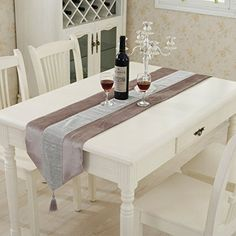 uxcell Colored Table Runner With Diamante Strip And Tasse... https://www.amazon.com/dp/B01LX6SHJP/ref=cm_sw_r_pi_dp_x_8gEPybMAZ4TW2