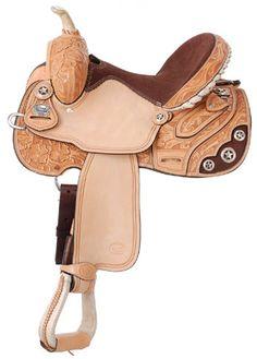 Saddles Tack Horse Supplies - ChickSaddlery.com Silver Royal Lamar All-Around Barrel Saddle #winyourwishlist