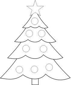 Use as a guide to make felt wall Christmas tree - Decoration Fireplace Garden art ideas Home accessories Christmas Tree Coloring Page, Christmas Tree Drawing, Christmas Tree Pictures, Wall Christmas Tree, Noel Christmas, Christmas Colors, Christmas Themes, Christmas Tree Printable, Christmas Tree Template
