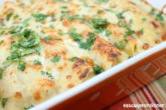 Shelley's Chicken Enchiladas - No Canned Soup