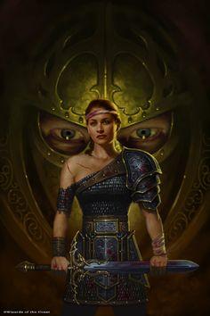 Dragonlance, Linsha Trilogy, Flight of the Fallen by Matt Stawicki.