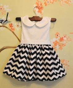 sweet baby chevron dress