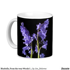 Bluebells, From the very Woods I Created! Classic White Coffee Mug