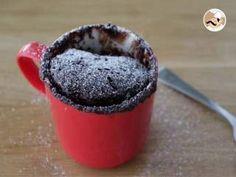 Mug cake moelleux au nutella, Recette Ptitchef