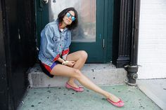 How to Style Ballet Flats