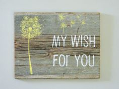 Reclaimed Barnwood, Hand-Painted Wood Sign
