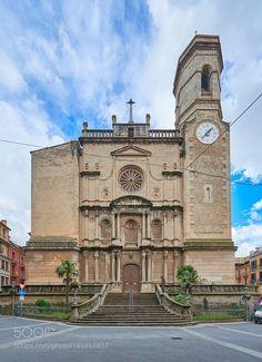 Iglesia de Sant Esteve de Olot by neobit #architecture #building #architexture #city #buildings #skyscraper #urban #design #minimal #cities #town #street #art #arts #architecturelovers #abstract #photooftheday #amazing #picoftheday