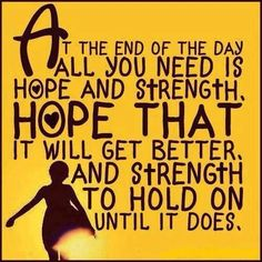 Hope and strength