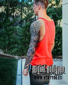 """3,901 Likes, 40 Comments - V TATTOO ®  Miguel Bohigues (@vtattoo.miguelbohigues) on Instagram: """"@fernandotorres"""""""