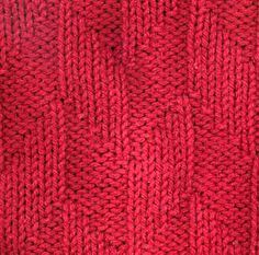 Parallelograms II knitting pattern. serious fave