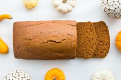 Make your own pumpkin bread with this recipe.