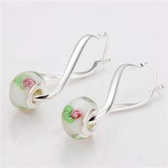 Whole Pandora Jewelry Earrings Bead Earring Lpe004 Us 8 50