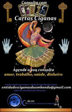 Entidades Ciganas da Umbanda (Clique Aqui) para entrar.: CONSULTA COM CARTAS CIGANAS ( CONSULTA COM BARALHO...