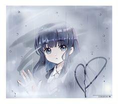 the wolf who cried sakura Chibi Anime, Anime Kawaii, Manga Anime, Anime Love, Sad Anime, Cardcaptor Sakura, Animes Yandere, Card Captor, Anime Drawings Sketches
