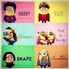 Harry Potter memes: MINIONS!@Stacey McKenzie McKenzie Timms