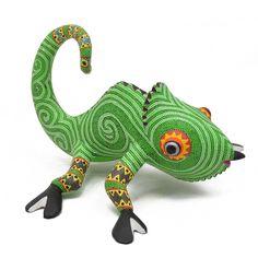 Bertha Cruz: Green Chameleon