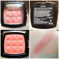 NYX dusty rose swatch