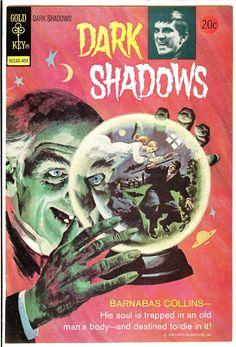 Dark Shadows Gold Key comics
