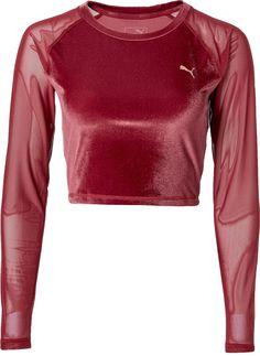 cf64eee4d6cc Puma Women s Explosive Velvet Crop Top · Puma ShirtsPuma ...