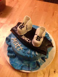 Wakeboard birthday cake laurelleebakery.com