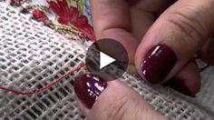 Toalha de Retalhos na Juta | Cantinho do Video