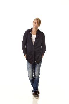 JAMES // Straight cut mens hoodie by Krista Elsta.