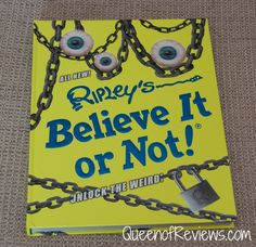 Check out the latest book from Ripley's Believe It or Not! Unlock the Weird. The book is a mind-blowing collection of fantastic, fun and even freaky stories from around the world. Sections include Animals, Pop Culture, Feats, Art, Food and Beyond Belief.http://bit.ly/2diqlpP