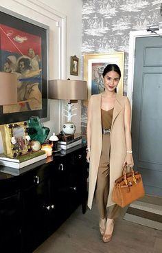 Heart Office Fashion, Work Fashion, Fashion Pants, Celebrity Fashion Outfits, Celebrity Style, Classy Outfits, Chic Outfits, Heart Evangelista Style, Filipino Fashion
