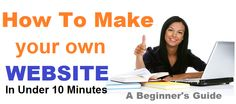Create your own Website in 10 minutes