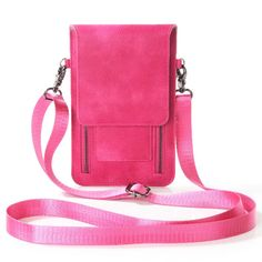 Lady Shoulder Belt Mobile Phone Leather Case Zipper Card Wallet Pouch For ZTE nubia N1 lite/Z11 mini S/Z11 Max/N1/Z11/Z9 #Affiliate