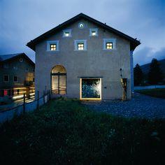 RUCH & PARTNER ARCHITEKTEN AG | Projekte | Galerieeinbau Chesa Perini, S-chanf