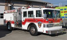 Page Fire Department - Page, Arizona - 1993 Pierce Custom Pumper  #niceride #firetrucks #setcom  http://setcomcorp.com/900intercom.html