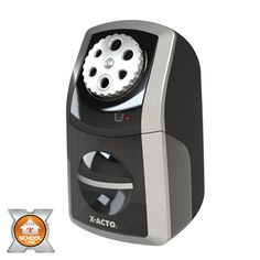 Shop for Elmer's SharpX Angled Electric Pencil Sharpener - Get free delivery On EVERYTHING* Overstock - Your Online Art & School Supplies Destination! Online Art School, Electric Pencil Sharpener, Alarm Systems For Home, Wood Storage Bench, Home Safety, Shopping Hacks, Black Silver, How To Memorize Things, Ea